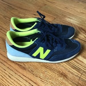 New Balance Navy Blue/Lime